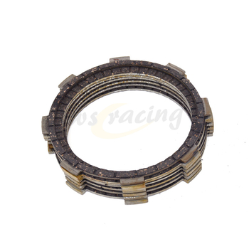 7 Pcs Motorcycle Engine Parts Clutch Friction Plates Fit For HONDA CB250F 96-07 CBF250 04-06 VT250C 94-07 VTR250 88-89 image