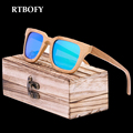 2017 New Brand Products Men Women Glass Pure Wood Sunglasses au Retro Vintage Wood polaroid Lens Wooden Frame Hand made HD lens
