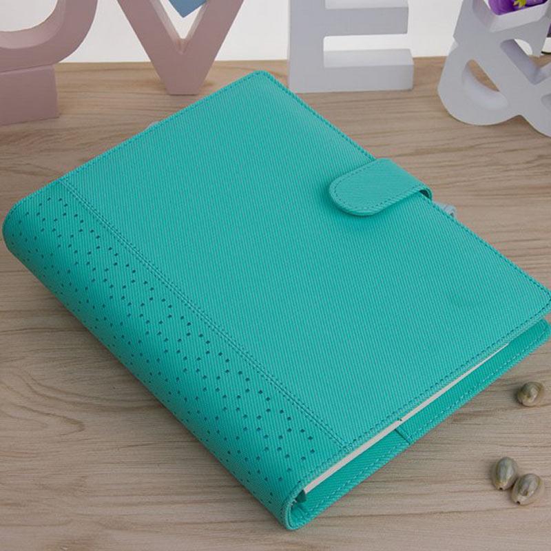 Uus Macaron õõnes PU nahast spiraal sülearvutid kirjatarbed, - Kaustikud ja kontoriraamatud - Foto 4