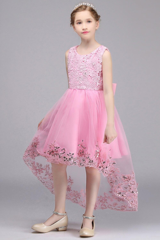 Ausgezeichnet Rosa Ballkleider Für Kinder Bilder - Brautkleider ...