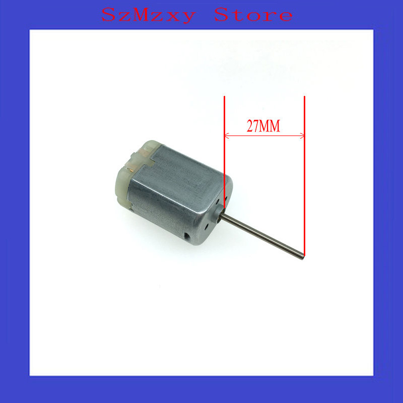 1PCS/Lot Car 280 27MM FC280 FC-280 12V Miniature dc locomotive lock rear-view mirror with motor high speed motor image