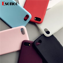 ФОТО  Iphone 7 Case Soft Silicone Cover for Iphone 8 Rubber Case for Iphone 6 6s 7 8 X Iphone 6 6S Case Cover