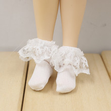 Neo Blythe Doll White Socks With Lace