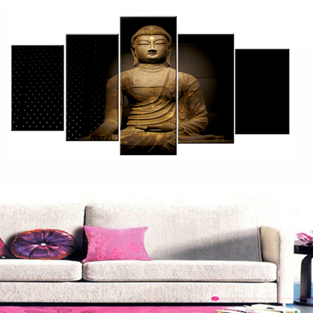Posters Picture On Canvas Wall Art Decoration Home Modular Frame 5 ...