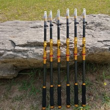 New Fishing Rod  2.1M 2.4M 2.7M 3.0M 3.6M Spinning Carbon Telescopic Rock Fishing Rod Carp Feeder Rod Spinning Rod Lure Pole new sea rod long shot thrown pole 2 4 2 7 3 0 3 6m carbon hard spinning lure rod superhard telescopic fishing rod