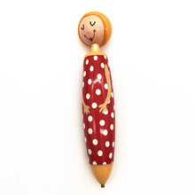 5d DIY Cartoon Girl Point Drill Pen Diamond Embroidery Special Shape Rhinestone Decoration