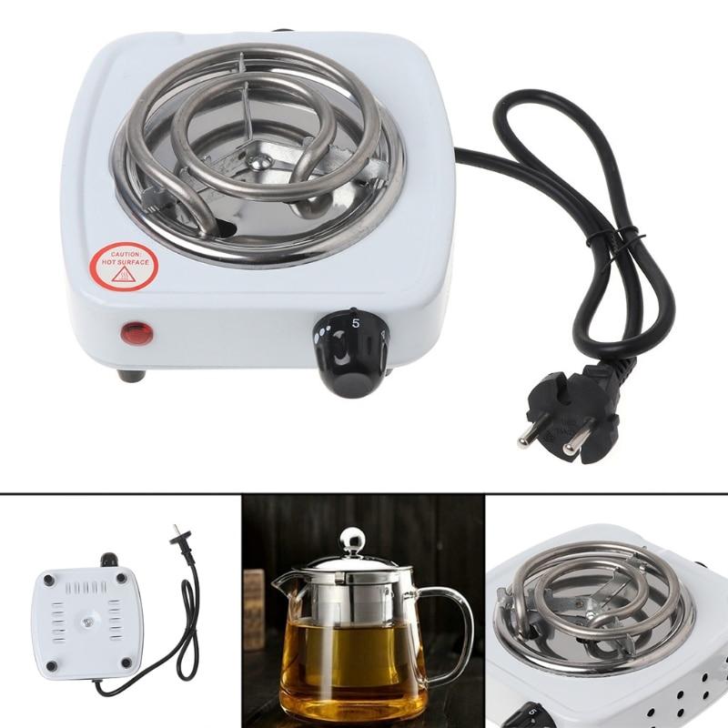 500W Electric Stove Hot Plate Burner Travel Cooking Appliances Portable Warmer U1JE