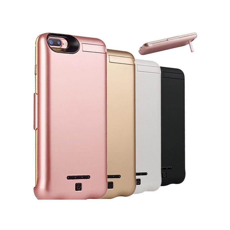 Цена за 2017 НОВЫЙ 10000 мАч Внешняя Батарея Зарядное Устройство резервного копирования аккумулятор case для iPhone 6 6 plus iphone7 7 плюс Крышка Батарейного Отсека Зарядное Устройство CASE