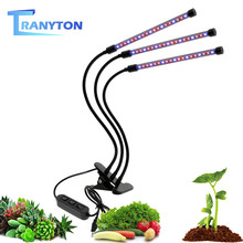 LED Grow Light 5V USB Power Supply Desktop Plant Growth Lights 3W 9W 18W 27W Flexible Clip Grow Lamp For Indoor Plants Flowers(China)