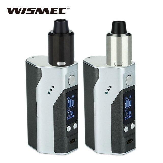 Оригинал wismec reuleaux rx200s комплект ж/geekvape цунами 24 rda распылитель электронные сигареты vs 200 Вт rx200s контроля температуры поле mod