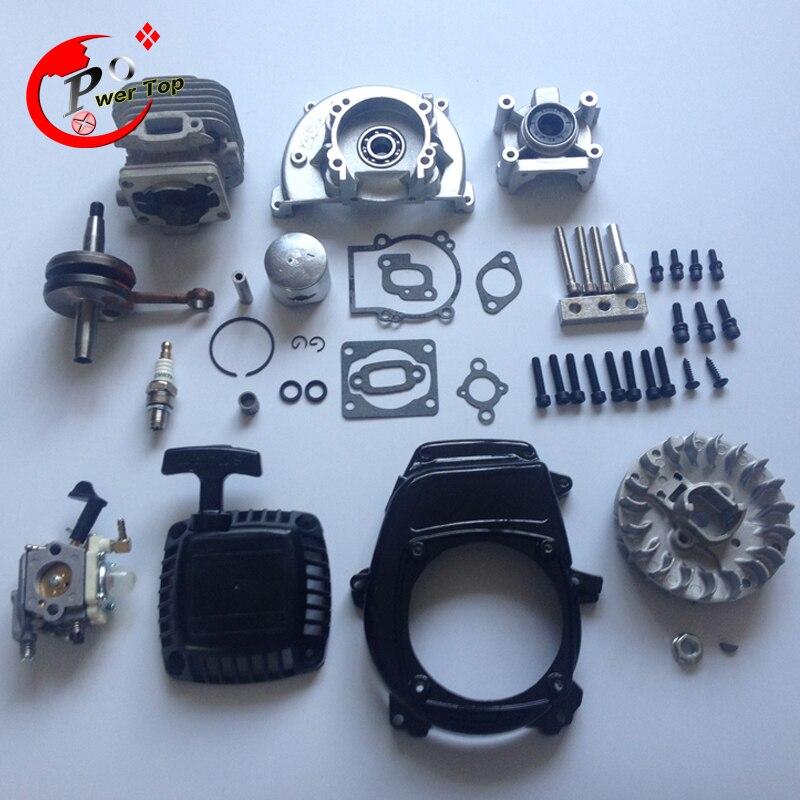 Rovan moteur 30.5cc 4 boulon kit avec ruixing carburateur pour 1 5 hpi baja  5b pièces roi moteur 736afc8a7308