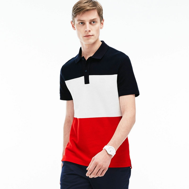 2018 merk zomer Polo Homme Manche Courte Mode Heren polo shirts korte - Herenkleding