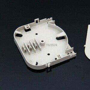 Image 2 - 20 قطعة/الوحدة 4 الأساسية ABS البلاستيك لوحة محطة صندوق لوحة الألياف البصرية لصق صينية الألياف البصرية 4 ميناء الألياف البصرية الربط صينية