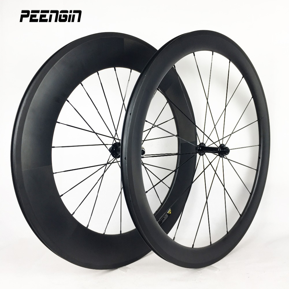 wheels-carbon-clincher 700c mixed OEM rim 23mm wide rim 50 front 88mm rear ruote mixed road race/training carbon bike wheelsets width 23mm mixed chinese carbon clincher road bike 3k twill weave front wheel 50mm rear wheel 60mm paint oem decal sticker logo