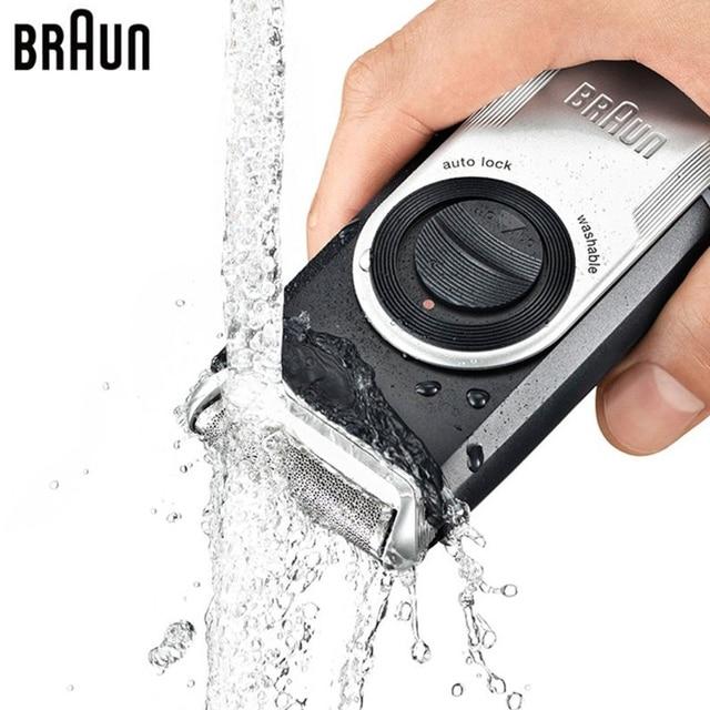 Maquinilla de afeitar eléctrica de afeitar Braun M90 cabeza flotante de  afeitar de pelo d70081f3d83d