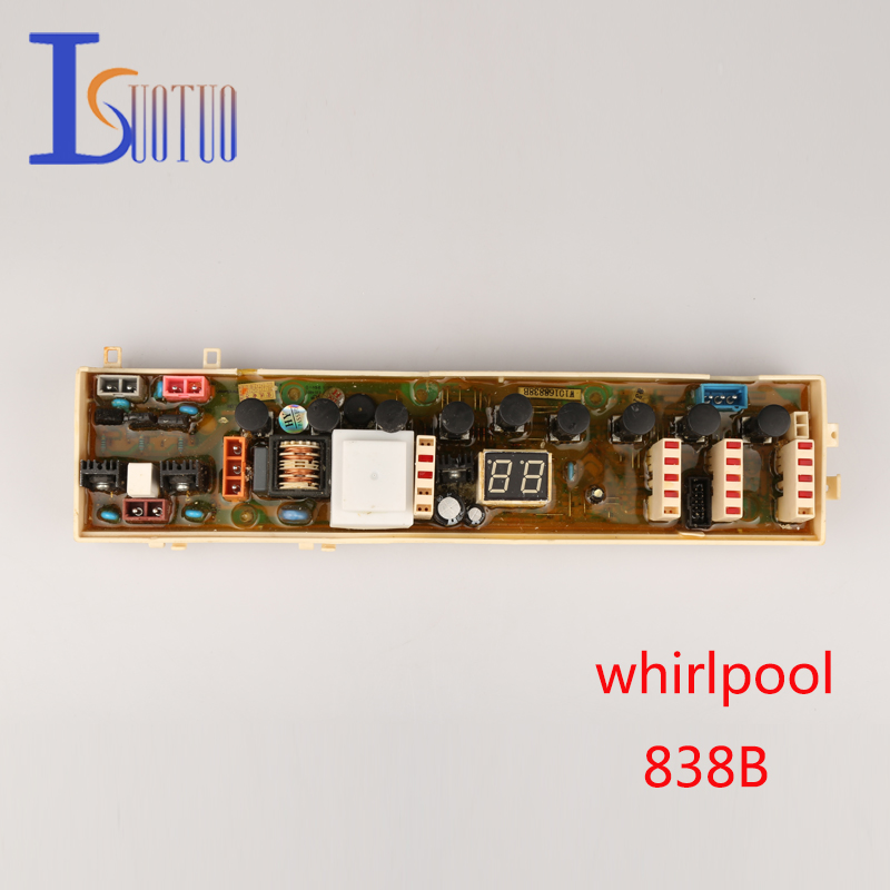 Whirlpool washing machine computer board 838B brand new spot commodity wire universal board computer board six lines 0040400256 0040400257 used disassemble