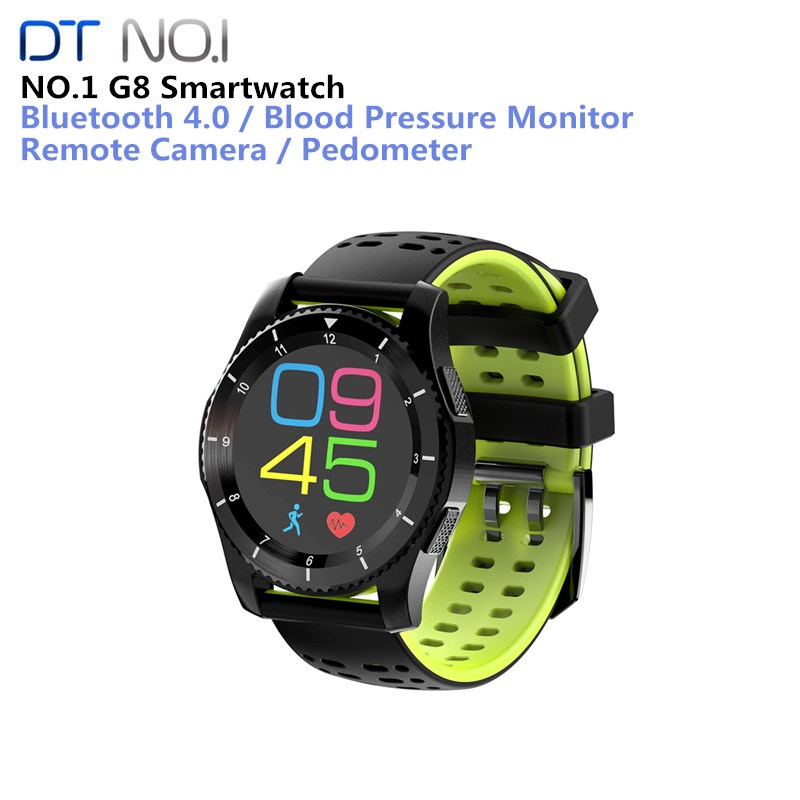 No.1 G8 Smart Watch Phone MTK2502 Bluetooth 4.0 SIM Card Smartwatch Call Message Reminder Heart Rate Monitor For Android IOS new original no 1 g6 smart watch mtk2502 sport bluetooth 4 0 tracker call running heart rate monitor smartwatch for android ios