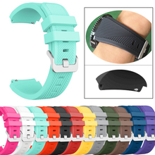 22mm silicone wriistbands for Huawei Watch GT Smart watch Fitness Tracker replacement watch bracelet straps for Honor Magic band все цены
