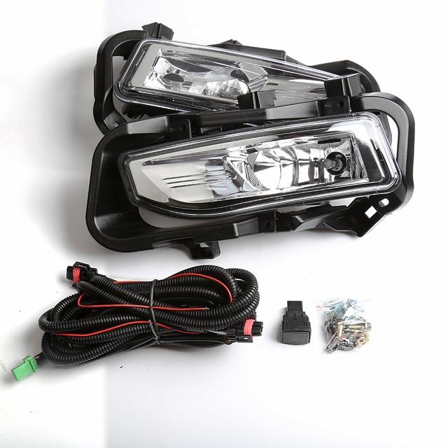 Magic Colorm Spot Driving Bumper Light Fog Lamp Fit For Nissan Kicks