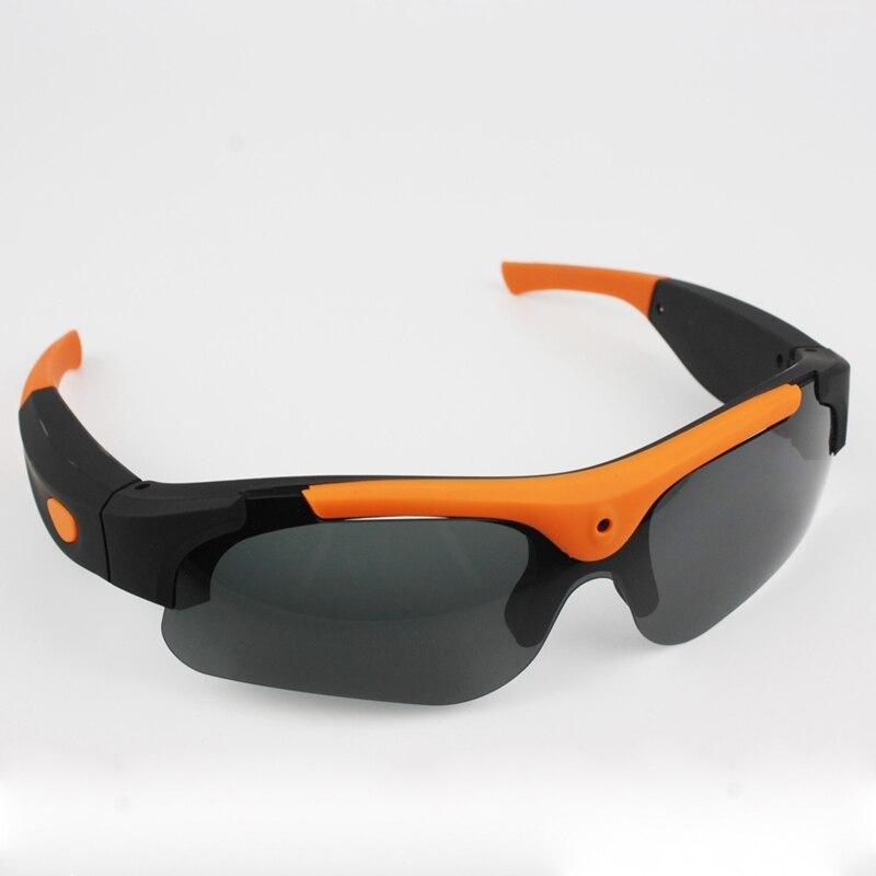 Grand Angle 1080 P HD lunettes de Soleil Caméra Vidéo Enregistreur Sport Mini Enregistreur lunettes de Soleil Caméscope Lunettes Vidéo Enregistreur