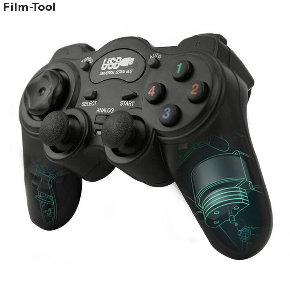 Wired Gamepad Joystick USB2.0 Shock Joypad Gamepads Game Controller For PC Laptop Comput ...