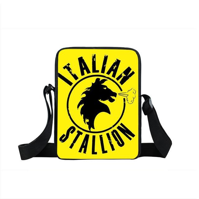 Rocky Balboa Italian Stallion Crossbody Bag Boxer Club Men Women Handbags  Mini Messenger Bag Children School Bags Kids Gifts 2f6a726a51ba5