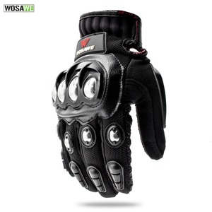 Image 4 - WOSAWE Off Road Motorcycle Armor Alloy Stainless Steel Racing Protective Gear Motorcycle Jacket+Shorts Pants+Knee Pads+Gloves