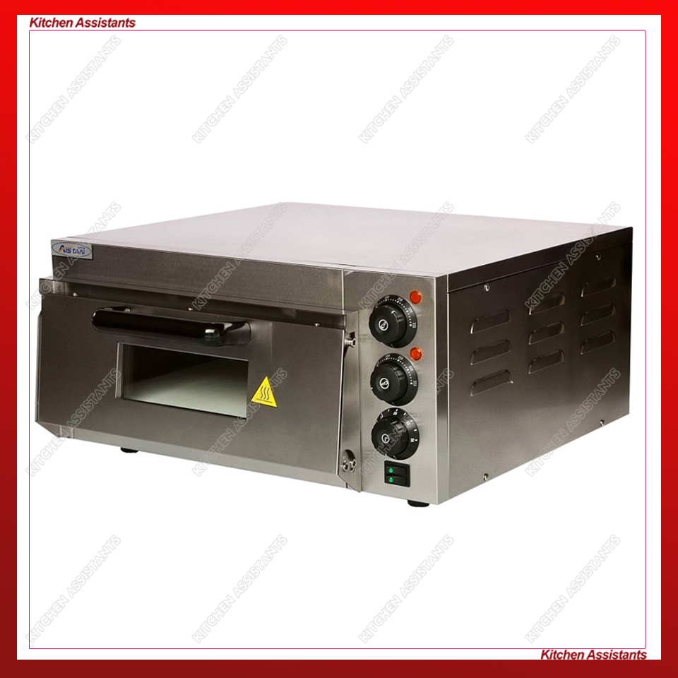 EP1ST EP2ST Electric Timer Thermosat Stone Baking Oven Stainless Steel Double Layers Bakery Oven Commercial Kitchen