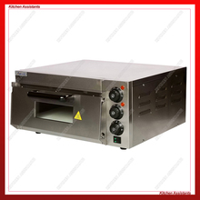 KAEP1ST Hot sale Electric Pizza Oven with timer for commercial use for making bread, cake, pizza ep2p electric oven for pizza 16 inch timer for commercial use to make bread cake pizza 220v 50hz baking size 40 40 11 5cm