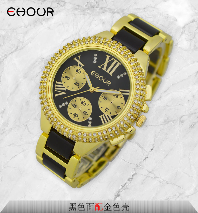 Cristal de la manera 2015 GINEBRA reloj de pulsera de acrílico de - Relojes para mujeres