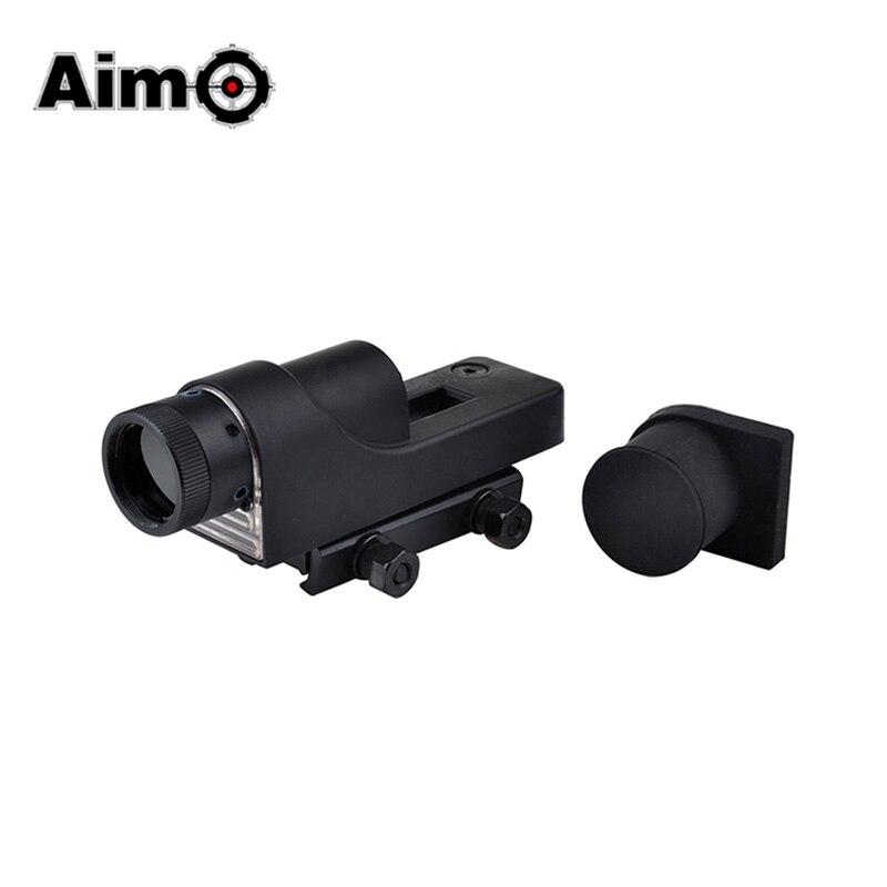 AIMO 1x24 Reflex point rouge Vision nocturne Airsoft point rouge viseur portée de fusil chasse AO5009