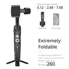Moza Mini-S 3-Axis Phone Gimbal Foldable Stabilizer for iPhone Oneplus 7pro GoPro DJI Osmo Action VS Mini-Mi Smooth 4