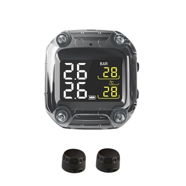 Система контроля давления в шинах M3, водонепроницаемый TPMS беспроводной ЖК дисплей, внутренние или внешние датчики давления в шинах