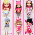 Doll Accessories 28-30cm Sofia princess Cinderella princess Anna Elsa for 16' American girl dolls clothes/dress for girls gift
