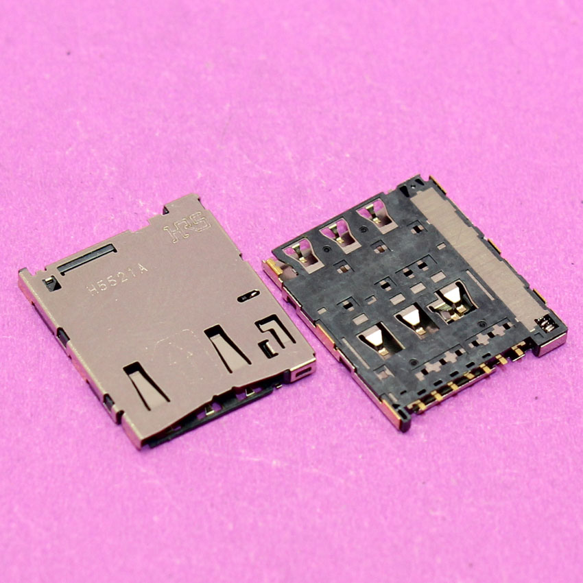 YuXi 1pcs Sim Card socket holder reader module for sony M4 E2303 E2353 E2312 E2306 E2333 W2363 SIM card adapters.