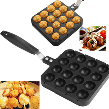 Mold Tools Baking Non Stick Cooking Takoyaki Grill Pan Plate Aluminum Home Octopus Ball Portable Kitchen Accessories Quail Egg induction cooker octopus balls bbq machine egg waffle quail egg mold