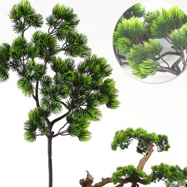 pine tree branches artificial plastic pinaster cypress fall christmas decorations greenery flower arrangement leaves wreath leaf - Christmas Greenery