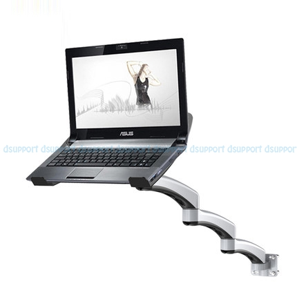 Ultra Long Arm Aluminum Alloy Full Motion Wall Mount Laptop Holder Bed Pole Mount Laptop Stand Arm Monitor Holder зеркало ellux linea led lin a2 9116