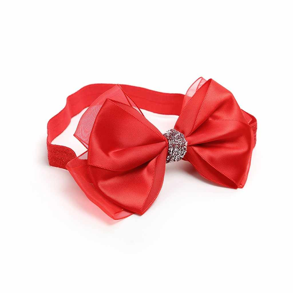 ทารก headbands แฟชั่นน่ารักหวานเด็กทารก bow headband เด็กวัยหัดเดิน bows Knot ผมเด็กอุปกรณ์เสริม