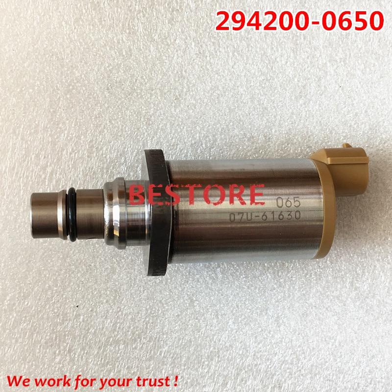 Original Genuine and new Common Rail SCV Valve 294200-0650 ,2942000650 new scv valve 294009 0260 2940090260 dcrs300260 for john deere re560091
