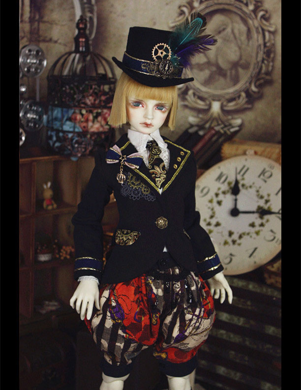 Clock Tower Magician Outfit for BJD Doll 1/3 SD10 SD13 SD17 Uncle IP SOOM Doll Clothes LF60 new bjd doll jeans lace dress for bjd doll 1 6yosd 1 4 msd 1 3 sd10 sd13 sd16 ip eid luts dod sd doll clothes cwb21