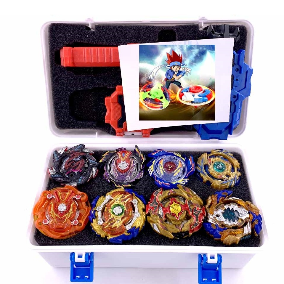 Full Burst Launchers Beyblade GT Toys Arena Kids Boys Gift Toupie Bayblade Metal Burst  God Spinning Top Bey Blade Blades