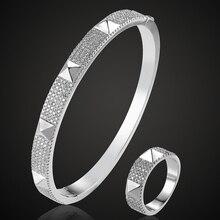 Blucome бренд кубический циркон браслет для Для мужчин ювелирные изделия Идеальный Медь браслет и браслет Интимные аксессуары Для женщин Любовь Браслеты Анель aneis