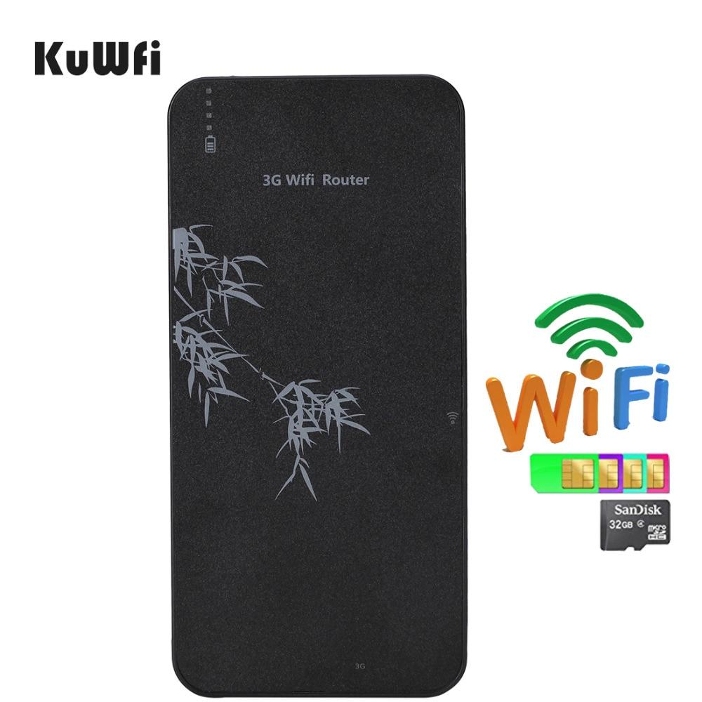 Banque D'alimentation Mobile intelligente 3g Routeur Sans Fil Routeur WIFI de Poche Avec Emplacement Pour Carte SIM et RJ45 jusqu'à 5 utilisateurs wifi
