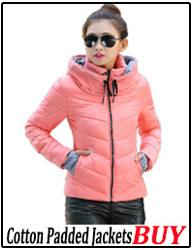 cotton padded jackets