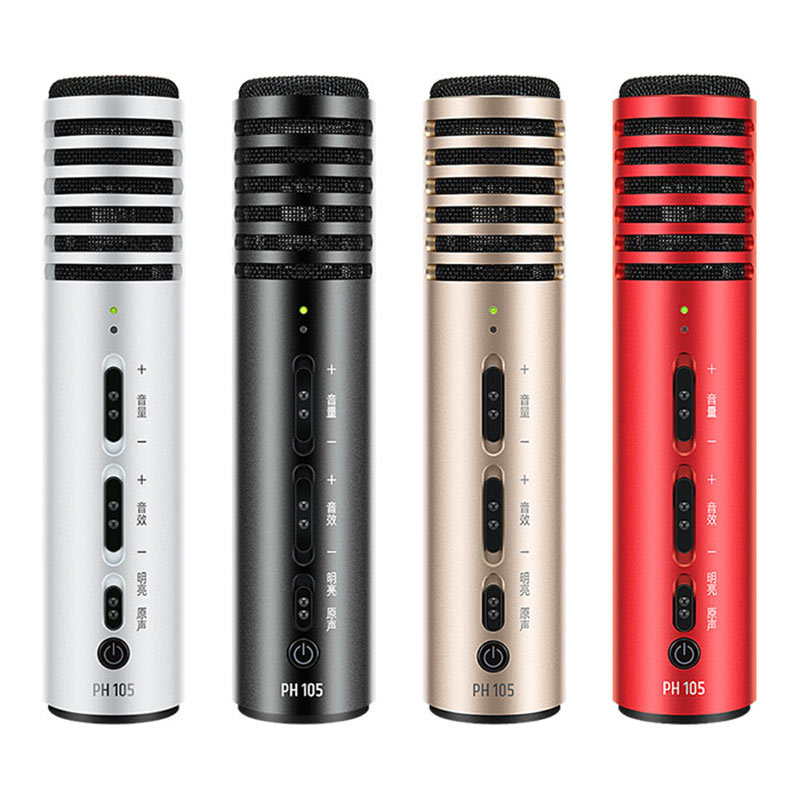US $69 99 |Takstar PH 105 Smart Phone Microphone use for Karaoke/ live  online broadcast/live broadcast APP-in Microphones from Consumer  Electronics on