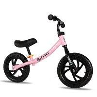 12-дюймовый двухколесный металлический детский От 3 до 8 лет для велосипеда без педалей, ходунки для детей