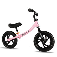 12 inch Two Wheel Metal Children's Balance Bike 3 8 Years Old Without Pedal Slide Walker Sense for Kids Ride on Toys