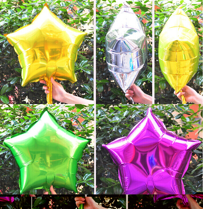 Event & Party Home & Garden Audacious 10pcs 18 Inch Star Helium Foil Balloons Baby Shower Party Decoration Air Ball Girls Happy Birthday Party Supplies 5zsh034