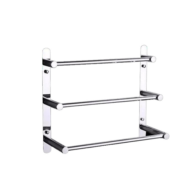 Modern towel rack Small Bathroom 60cm Length 304 Stainless Steel Towel Ladder Modern Towel Rack Towel Bars Bathroom Towel Rack Layers Wall Mount Victor 22 Aliexpresscom 60cm Length 304 Stainless Steel Towel Ladder Modern Towel Rack